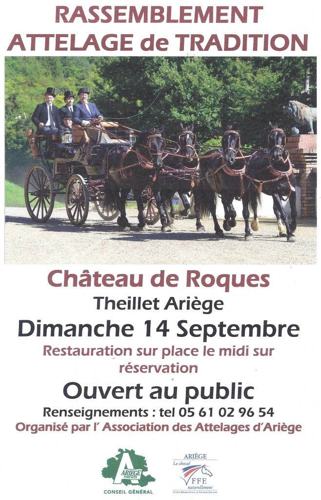 Rassemblement de tradition Château de Roques 2014